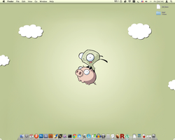 My desktop by x-MX-x