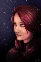Snow sister by Cederin