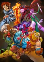 AGE OF APOCALYPSE xMen by deffectx