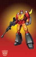 MP Rodimus Prime by Dan-the-artguy