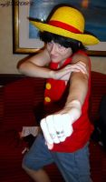 Luffy Anime Los Angeles by mzGALORE