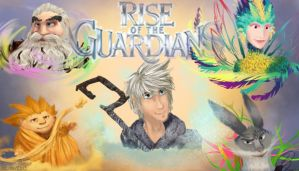 Rise of the Guardians characters by Ningeko16