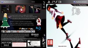 Ib PS3 fake cover by OoBloodyRavenoO