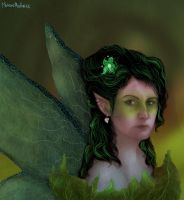 My sis the fairy by MekareMadness
