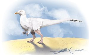 A better fake Theropod by TheWoodParable