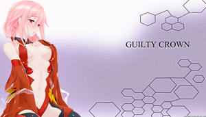 Guilty Crown Inori by loncdragun