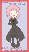 St. Valentine's 2011 -Marluxia by SnowpirateRoy