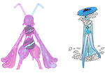 [1/2 OPEN AUCTION] SODA POP ALIENS COLLAB by ghosty-doll-adopts