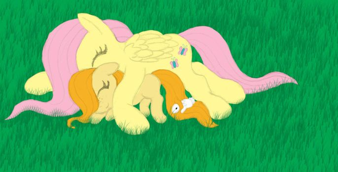Flutterslumber by The-Laughing-Horror