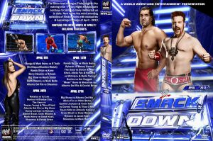 WWE SmackDown April 2012 DVD Cover by Chirantha