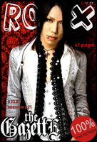 Jrock Magazine Cover -FAKE- by dreamingloud