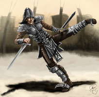 Fighter by Crowsrock