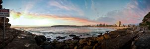 Manly at sunrise by tiboat8h
