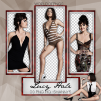 Pack Png 698 - Lucy Hale by worldofpngs