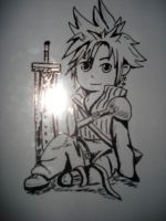 Chibi cloud by twinkelsparky1