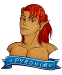 GIFT: Pyronim for Ethril-Dragon by landiddy