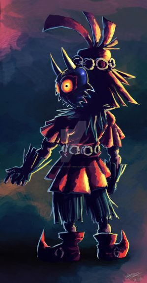 Skullkid: Majoras Mask by lazyperson202