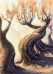 Gnarled Charries by VidPen