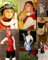 Haruko Collage- AWA 07 by JocelynAda