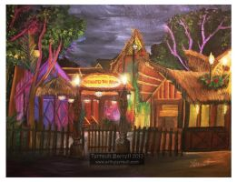 Enchanted Tiki Room by Terrauh