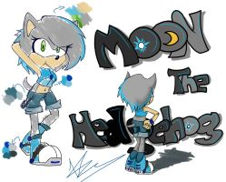 MoonTheHedgehog AT by NellyTHedge09