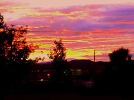 New Mexico Sunset by Kleetus7