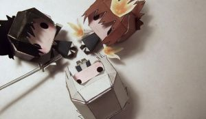 Team Awesome - Papercraft by awesomeness890