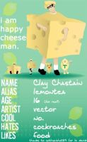 I am happy cheese man by lemontea