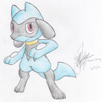 Riolu by vivianchhay