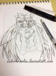 Sailor V WIP! by SailorBrawlee