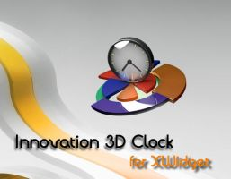 Innovation 3D Clock for xwidget by jimking
