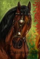 Mage's horse by oceans-inferno