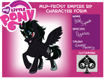 for Pony Rp (again) Bold Spade by Velink