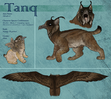 Tanq Character Sheet by Marbletoast