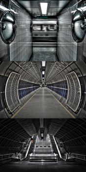 London Underground HDR by bassmansgz