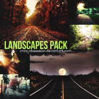 PACK DE 7 LANDSCAPES by CrazyObssesion