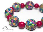 """Bracelet """"Love the color"""" by OrionaJewelry"""