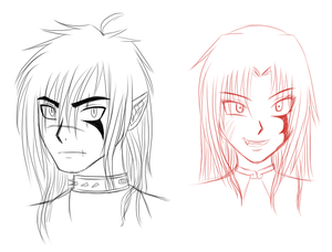 Headshots of new OCs