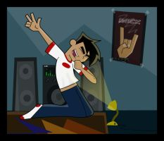 ROCKING OUT - Danny Fenton by DannyPhantomAddict