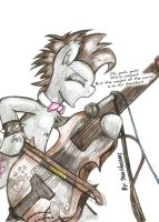 Cello and Punk by JcosNeverExisted