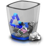 Full recycle bin by BrightKnight