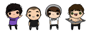 All Time Low Chibis by mason-musso