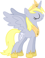 Princess Derpy Hooves by Drakizora