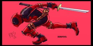 Deadpoolrunner Copy by Richs-comics