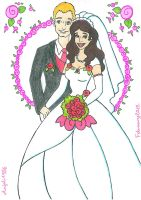 PC-The Wedding Couple by AnneMarie1986