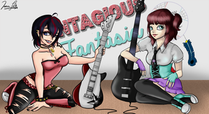 MRA - Gumi + Lena for Contagious Fantasia by kissingcyanide