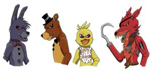 Five Nights At Freddy's by DemyxXIII