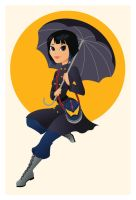 Mako Mori by Indy-Lytle
