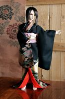 BJD kimono, Formal Visit 2 by InarisansCrafts