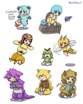 TOO MUCH MOEMON by Plus5Pencil